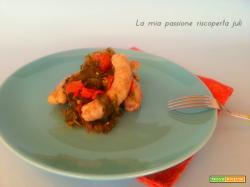 Salsiccia e qualeddu, verdura selvatica