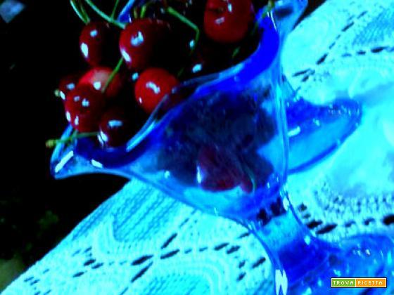Sciroppo di ciliegie gelati, dolci