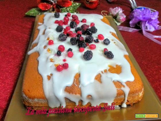 Torta nua con crema di limone