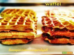 Waffle piastre di ghisa