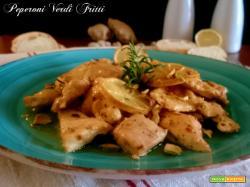 Pollo al limone zenzero e pistacchi