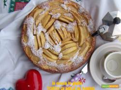 Torta di mele con farina di farro