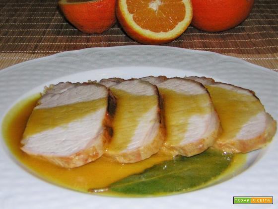 Arista all'arancia ricetta facile