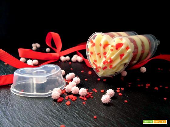 Push up cake pops per San Valentino