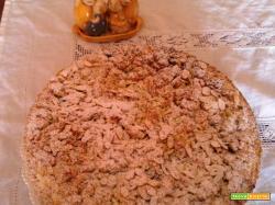 Crostata ricotta, amaretti e nutella