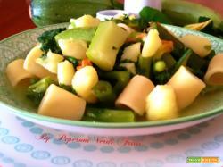 Ditaloni con talli, zucchine e patate