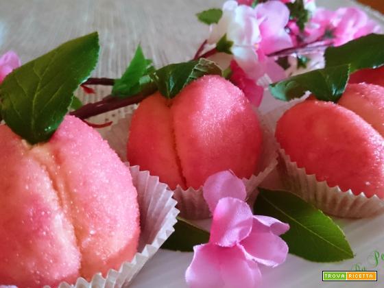 Pesche dolci all'alchermes