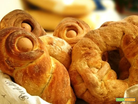 Vavarialli di pane con lievito madre
