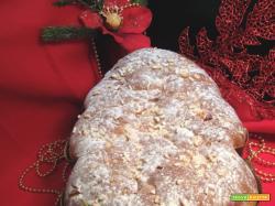 Albero di Natale vegano con frutta disidratata