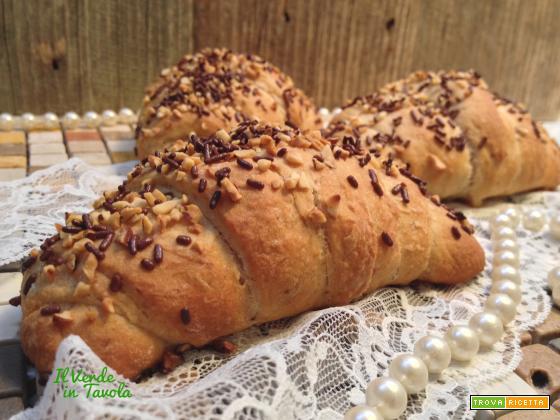 Croissant vegani sfogliati a modo mio