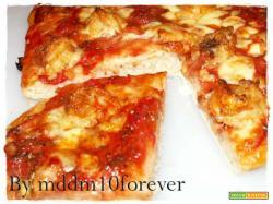 PIZZA GAMBERONI SALE E PEPE