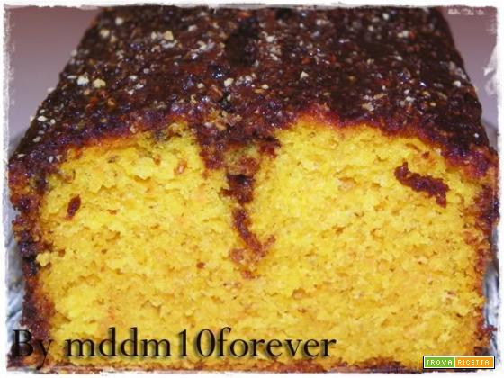 PLUM CAKE CAROTE E CIOCCOLATO