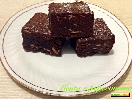 Ricetta Brownies al cioccolato e mandorle