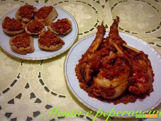 Ricetta Coniglio con ragù al pomodoro