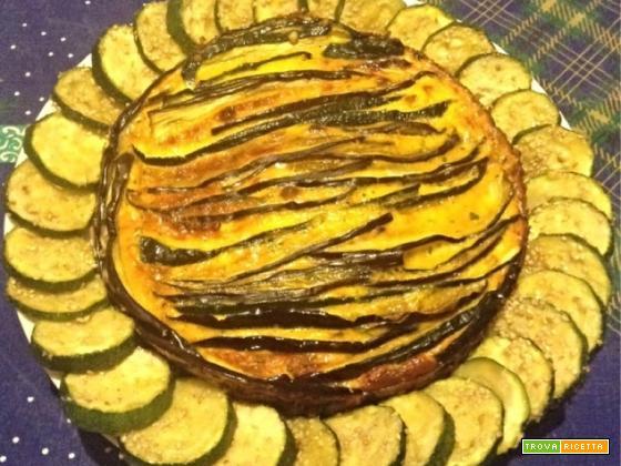 Ricetta Frittata con melanzane e zucchine