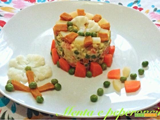 Ricetta insalata russa molto saporita