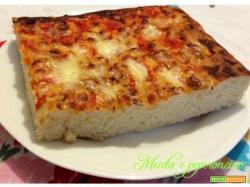 Ricetta Pizza soffice in teglia