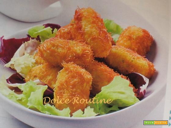 Crocchette di Branzino Spettinate dolce routine