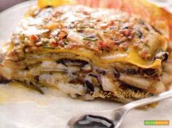 Lasagne trevigiane con Riduzione di Balsamico