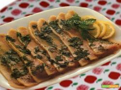 Pesce Spada Marinato in Agrodolce