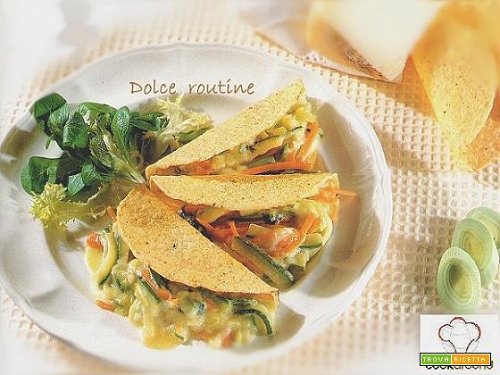 Taco Farciti con Verdure