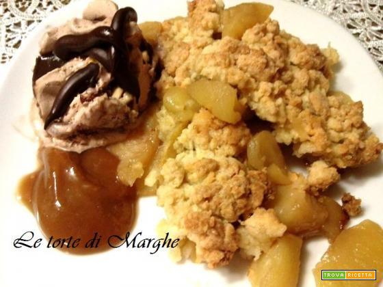 Apple crumble - torta di mele ricetta...