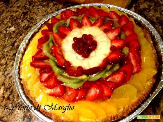 Crostata alla frutta fresca ricetta.....