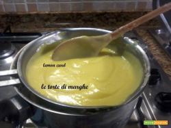 lemon curd ottima crema per farcire.....