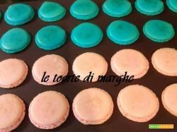 macarons colorati ricetta