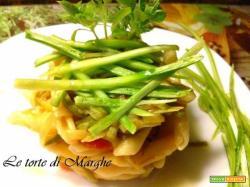 Maccheroncini con zucchine alla julienne