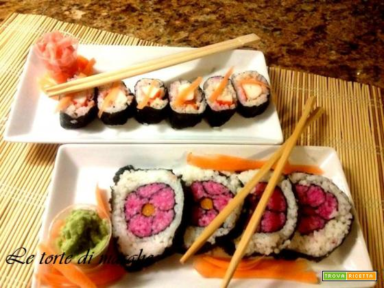 Sushi mania - fantasie di sushi di pesce