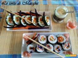 Sushi vegetariano ideale per vegani.....