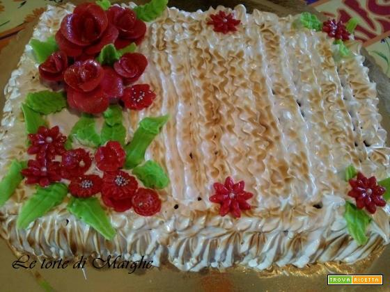 Torta meringata per anniversario ricetta