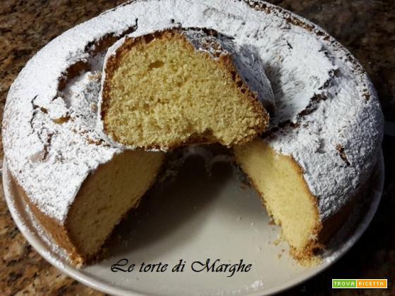 Torta paradiso senza glutine e lattosio-