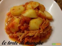 Trippa con patate piatto tipico lucano..