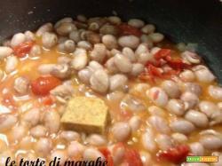 zuppa di borlotti freschi