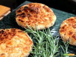 Hamburger di fagioli borlotti