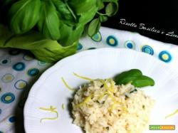 Risotto basilico e limone