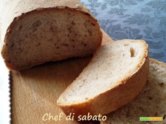 Pane con semi di cumino e girasole