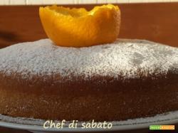 Torta all'arancia senza uovo burro e latte