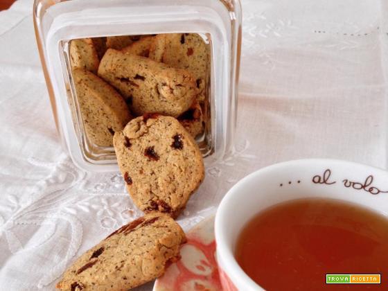 Biscotti uvetta e grano saraceno senza glutine