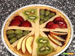 Crostata marmellata e frutta