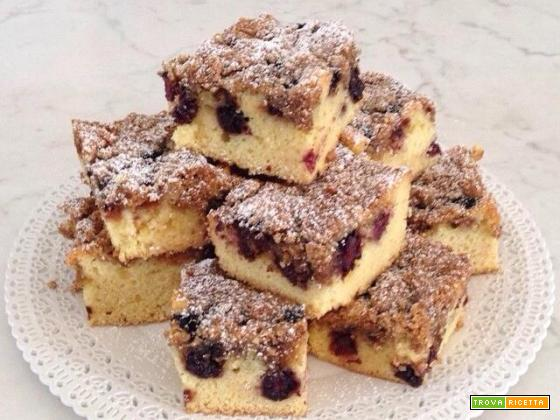 Crumble cake alle more