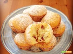 Muffin light ai frutti rossi