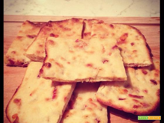 Pizza grassa con lievito madre