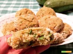 Polpette di quinoa e zucchine senza glutine