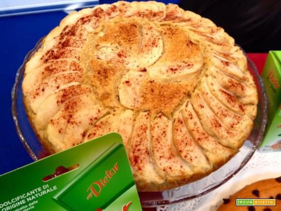 Torta integrale di mele cannella e Stevia