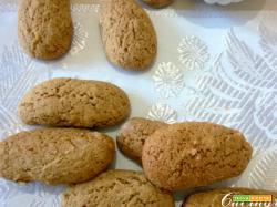 Biscotti al caffè con noci