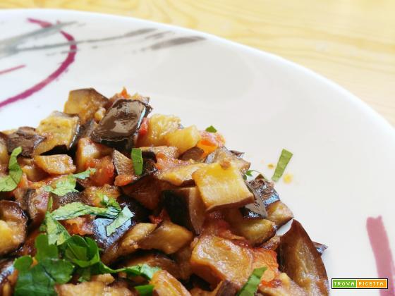 Melanzane e pomodori |ricetta contorno
