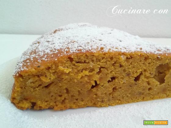 Torta di zucca dolce-ricetta Halloween- autunno